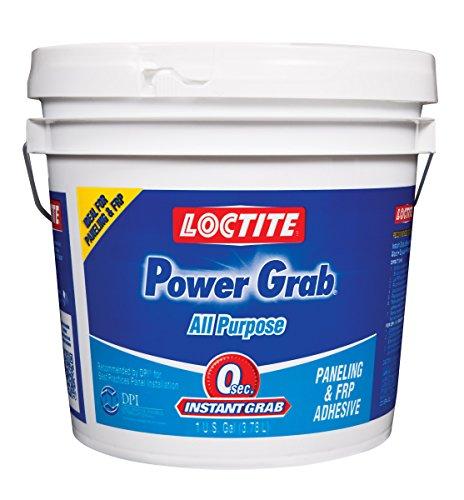 Loctite PowerGrabExpress All-Purpose Adhesive,1 Gallon Pail, 4- Pack (2082702-4)