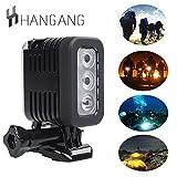Hangang Wasserdicht LED Unterwasser Dive Licht für für GoPro Hero Action Kameras, wasserdicht...