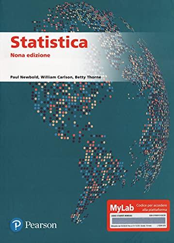 Statistica. Ediz. mylab