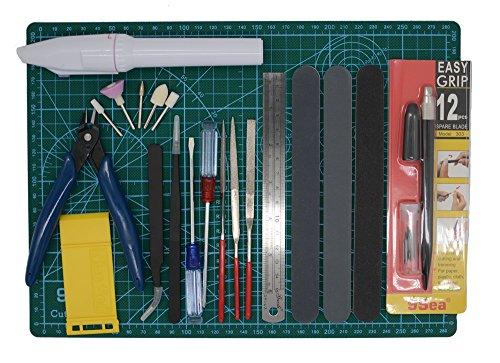 Gundam Modeler Builder's Tools Craft Set Kit 16 PCS For