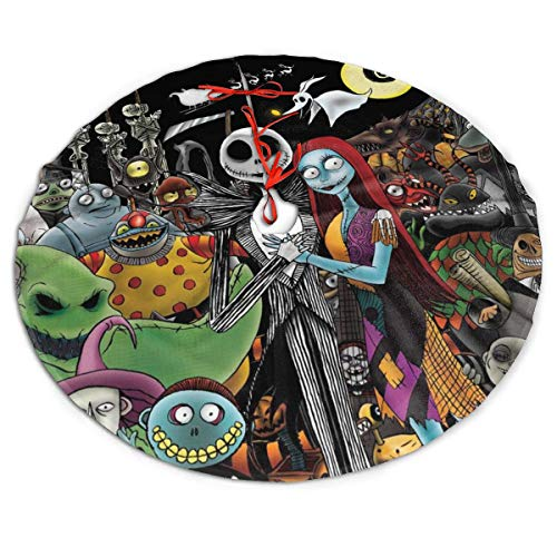 Cunningham Nightmare Before Christmas Jack and Sally Poster Weihnachtsbaumrock 91,4 cm