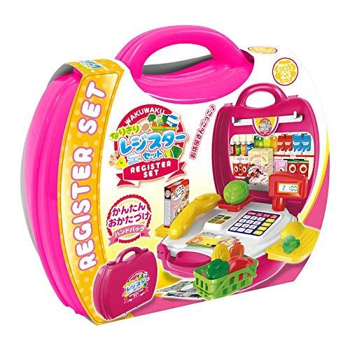 プレゼントに 子供用玩具 なりきりごっこあそびセット なりきりレジスターセット 〈簡易梱包