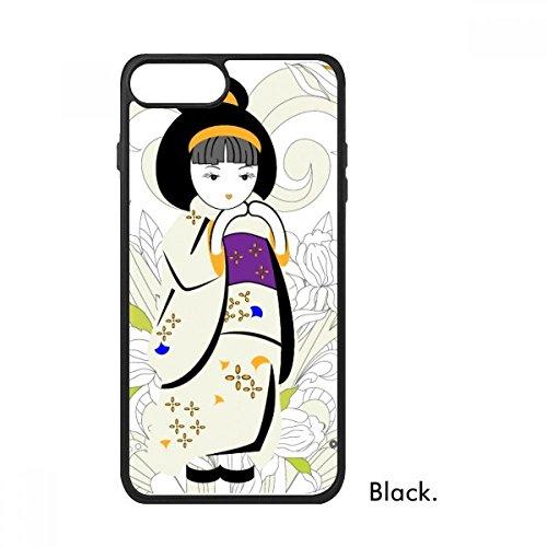 Bestchong Japan Kimono Meisje Patroon Voor iPhone SE 2 nieuw voor Apple 78 Case Cover
