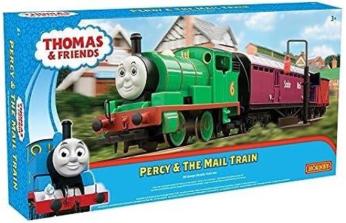 Vuelta de 10 dias Hornby Percy and The The The Mail Train Set (verde) by Hornby  barato y de moda