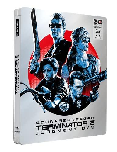 Terminator 2 [4K Ultra HD 3D + Blu-Ray-Édition Limitée SteelBook-30ème Anniversaire]
