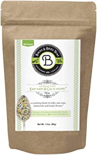 Sleep Tea & Bedtime Tea for Insomnia Relief - Easy Naps & Calm Nights by Birds & Bees Teas - Pregnancy Tea Organic Loose Leaf Blend - Great Calming Tea and Relaxing Tea for The Family! 40 Servings