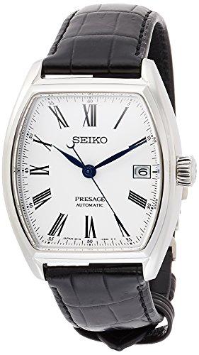 [セイコーウォッチ] 腕時計 プレザージュ 琺瑯ダイヤル メカニカル デュアルシリンダーサファイアガラス SARX051 メンズ ブラック