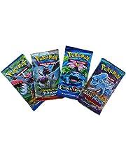 Pokemon TCG: 4 Booster Packs – 40 Cards Total  Value Pack Includes 4 Blister Packs of Random