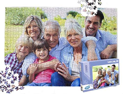 Fotopuzzle 1000 Teile, Puzzle mit eigenem Foto 1000 Teile, Fotopuzzle mit 1000 Teilen, Ihr Foto auf einem Puzzle, Fotopuzzle mit eigenem Bild