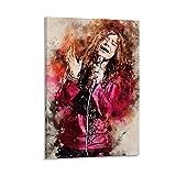 ZUNZUN Janis Joplin Poster dekorative Malerei Leinwand