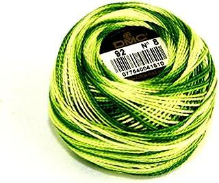 /par 10/g Boule sans Minerva Crafts Craft Guide DMC fil coton perle taille 8/890/