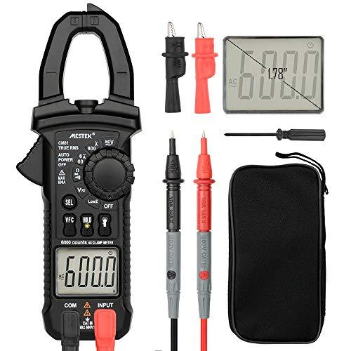 Dhmm123 Digital Digitales Zangenmessgerät Multimeter Stromzangen AC/DC Spannungswiderstand Tester Messwerkzeuge Diagnose-Tester CM81 Spezifisch
