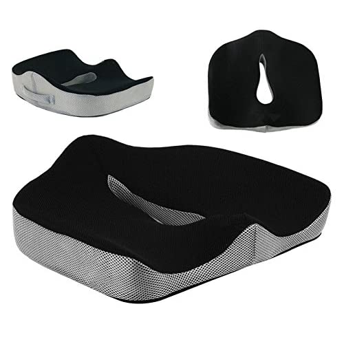 3d512dc7fe096b Memory Foam Seat Cushion for Relieving Back