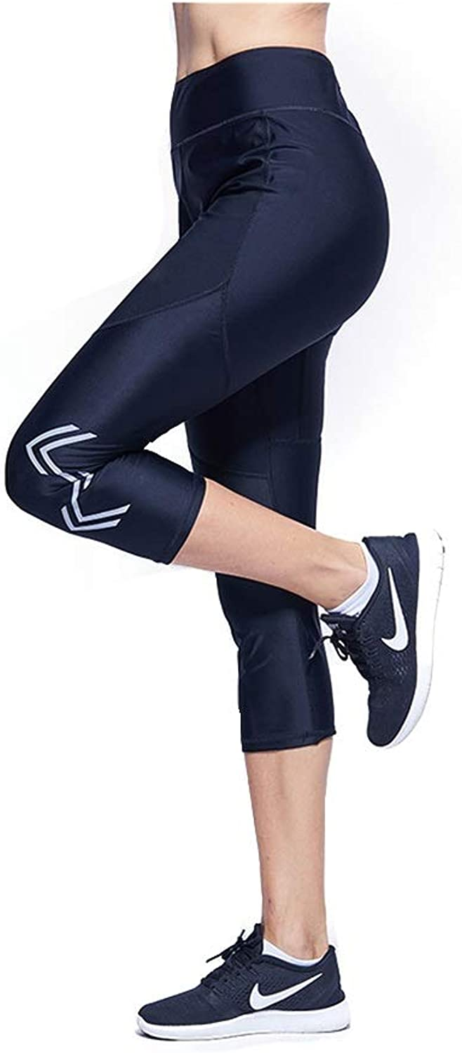Explosive Trousers Sports Running Fitness Pants Cropped Trousers Female Summer Sweat Suit Weight Loss Clothing Sweating Sweating Stovepipe