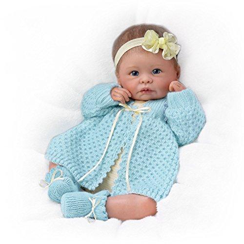 Kuschelige Sarah - Lebensechte Künstler-Babypuppe von Linda Murray