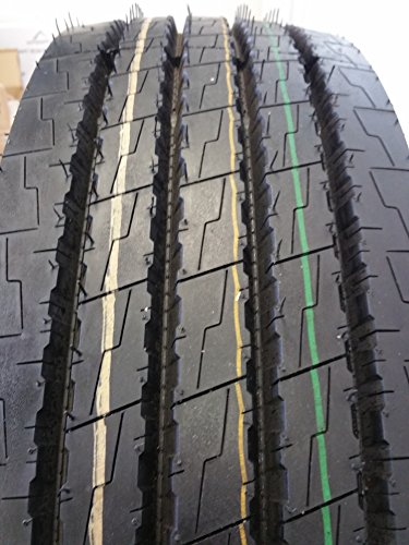(1-TIRE) 265/70R19.5 H/18 NEW ROAD WARRIOR STEER ALL POSITION TIRES 16 PLY 24570195