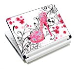 Butterflies High Heel Fashion Netbook Laptop Skin Sticker Reusable Protector Cover Case for 11.6 13 13.3 14 15 15.6 Inch Apple Acer Asus Toshiba Hp Samsung Dell Leonovo Sony Laptop YNEK-124