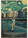 SHANGYOU Leinwand Poster Woody Allen Poster Vintage Antik