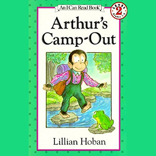 Arthur's Camp-Out audiobook cover art