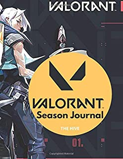 Valorant: Season Journal: Lined Journal - (100 Pages, Blank, 8.5 x 11) (Journals)