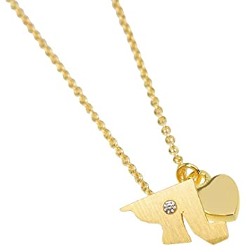 Michigan Necklace State Charm Necklace Gold Necklace BN432G-MI Dainty State Necklace Souvenir Gift Home Necklace USA Necklace