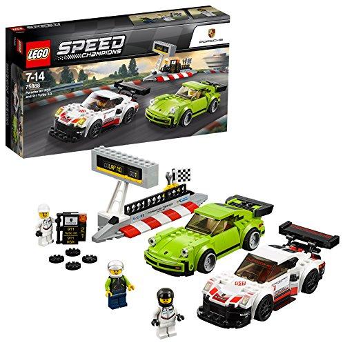 LEGO Speed Champions - Porsche 911 RSR et 911 Turbo 3.0 - 75888 - Jeu...