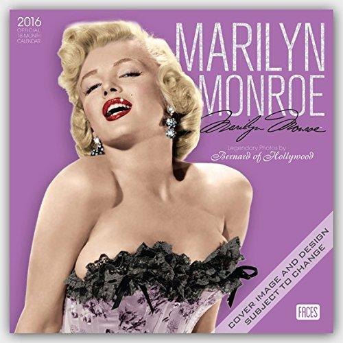 Marilyn Monroe 2016 - 18-Monatskalender: Original BrownTrout-Kalender [Mehrsprachig] [Kalender] (Wal