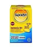 Supradyn Memoria 50+ Multivitaminas para la Memoria con Vitaminas, Minerales, Antioxidantes y Ginseng, una Ayuda para la Memoria y contra el Dao Oxidativo, 30 Comprimidos