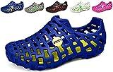 Zapatos Aguamarina Mujeres Zapatos de Agua para Hombre Sandalias Playa Zapatos Casual Malla de Playa Deporte al Aire Libre Masaje Lijeer (Azul,39 EU,24.5CM De talón a Dedo del pie