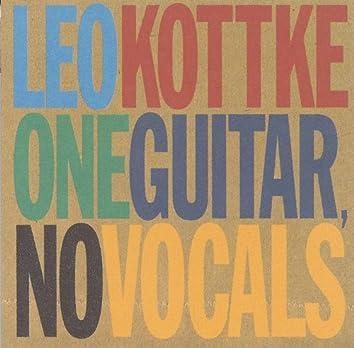One Guitar, No Vocals