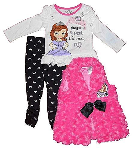 Disney Baby-Girls Toddler Girls Sophia The First 3pc Set Pink (4T)