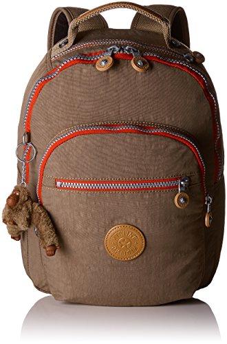 Kipling CLAS SEOUL S Mochila con Compartimento para Tableta, 10 litros, Beige (True C)