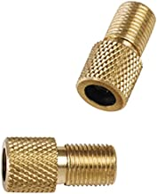 Pack of 4 Quick Pressure QP-002010 Stainless Steel Brass Valve Stem Adapter,