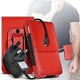 i-Tronixs (Red) Case for Acer Liquid Jade Primo Mobile
