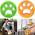 Pet Hair Remover for Laundry,Washing Machine Pet Hair Catcher,Pet Fur Remover for Clothes/Bedding,Reusable Cleaning Ball Floating Pet Fur Remover Washer Dryer Floating Ball.