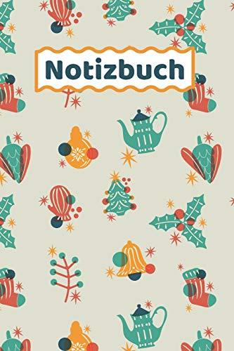 Notizbuch: Süßes Winter Notizheft - Liniert
