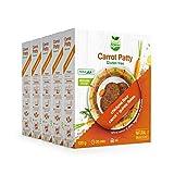Veggie&Nature - Mezcla para hamburguesas veganas de zanahoria sin gluten, 120 g (5 paquetes)
