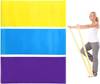 CCINEE Resistance Bands Set,Exercise Resistance Bands for Yoga,Strentch Training,Pilate and Stretching