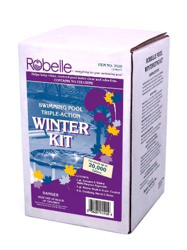 Robelle 3520 Swimming Pool Triple-Action Winter Kit, 20000-Gallon