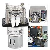 Bomba peristáltica, 500 ml/min Bomba peristáltica de flujo grande Bombas dosificadoras peristálticas de alta calidad para laboratorios de acuarios industriales(24V)