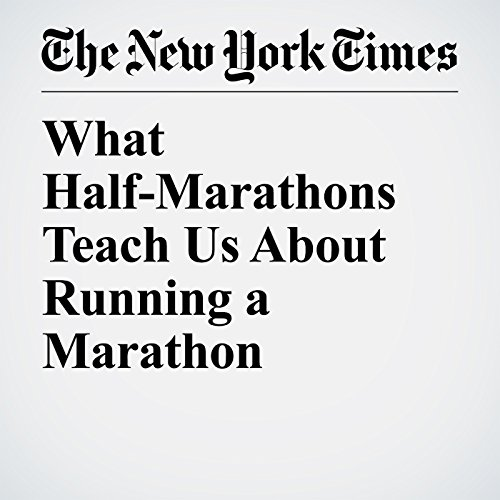 What Half-Marathons Teach Us About Running a Marathon audiobook cover art