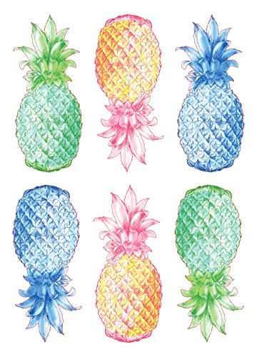 Wall Pops DWPK2171 Pop Pineapples Wall Art Kit
