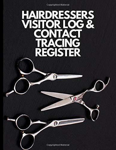 Hairdressers Visitor Log Book & Contact Tracing Register:...