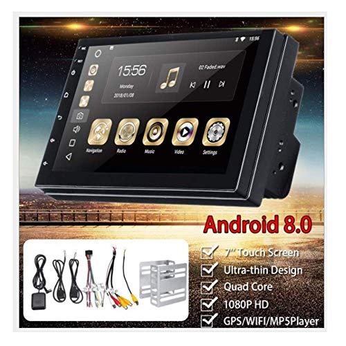 Navegador de radio estéreo para automóvil de 7 pulgadas, enlace de espejo de soporte 2 DIN, marcha atrás del automóvil, Wifi, aplicación Dowaload, teléfono BT, RAM1G + ROM 16G compatible con Nissa