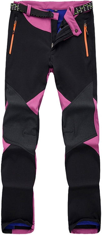 Kmover Women's Ski Snow Insulated Fleece Softshell Windproof Waterproof Pants