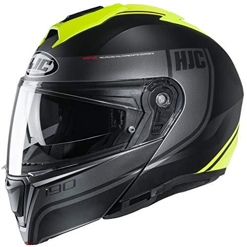 HJC I90 Davan MC-4HSF Motorradhelm, Klapphelm Damen Herren (L 57-58cm)