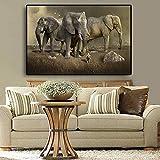 yaonuli Afrikanische Elefantentierlandschaft