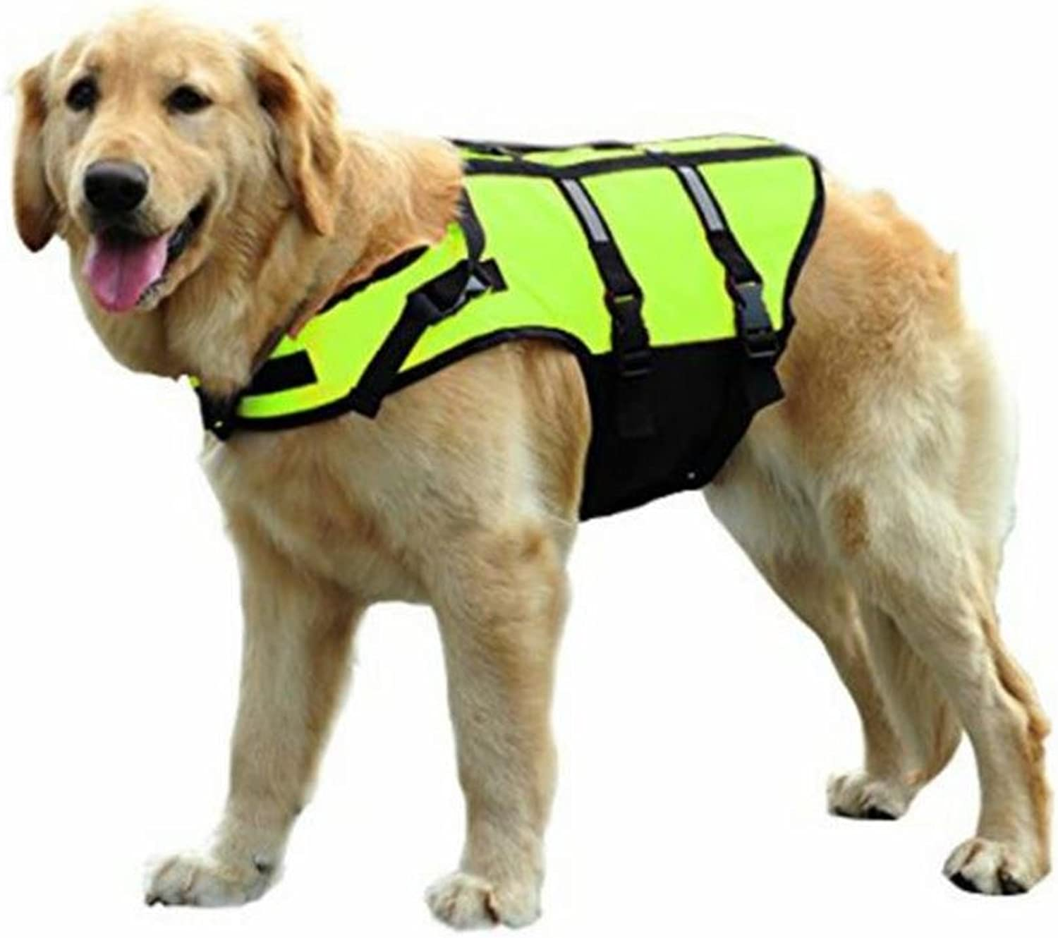 PetBoBo Dog Life Jacket for Small Medium Large Dogs, Adjustable Pet Life Preserver Safety Dog Swimming Pool Vest, Novice Swimmer Life Jacket for Pets, Water Safety at The Pool,Cosplay