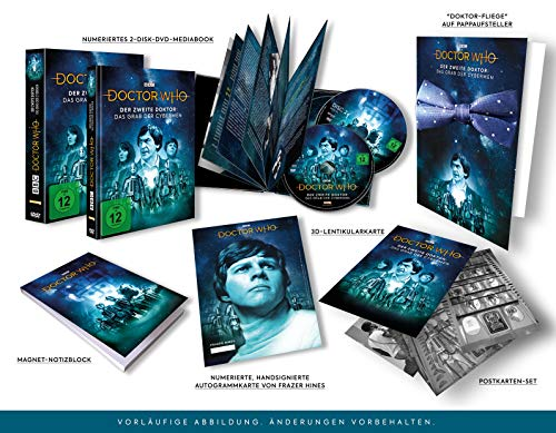 Doctor Who - Der Zweite Doktor: Das Grab der Cybermen (Special Edition) (exklusiv bei Amazon.de) [Limited Edition] [2 DVDs]
