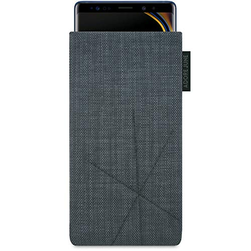 Adore June Axis Funda para Samsung Galaxy Note 9 con Función de Retorno, Gris Oscuro